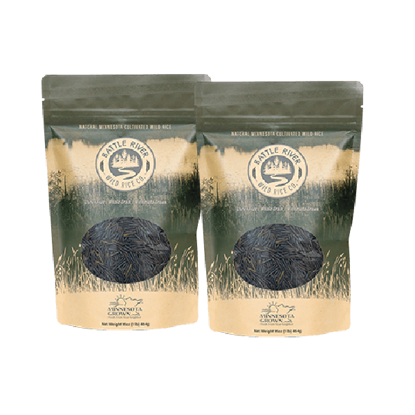 2 one pound bags of Battle River Wild Rice ready to order now.