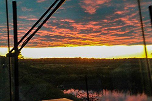Nistler Family Farm Sunset at Battle River Wild Rice