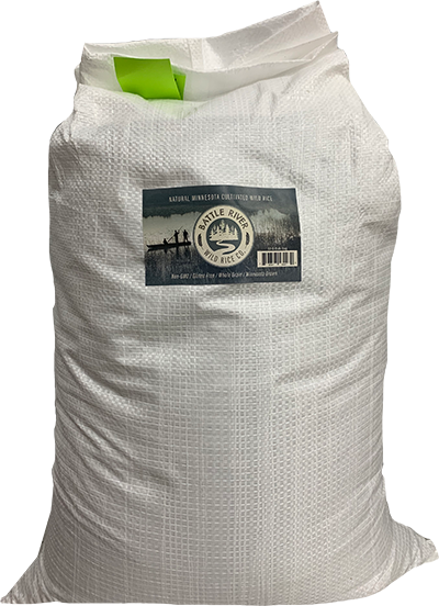 50 lb bag of wild rice